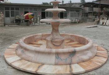 Hand Carved Natural Marble Water Fountain