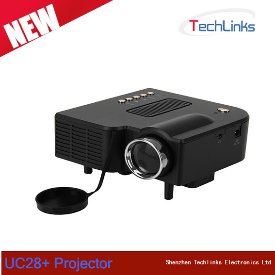 Hot UC30 1080P Portable Mini Led Projector Home Theater MINI Projector Support HDMI VGA AV USB Digital projector for PC