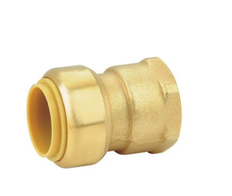 LB-GutenTop 20mm 22mm brass push-fit fitting for PEX pipe copper pipe