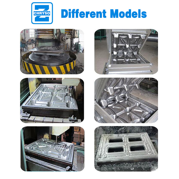 different molds