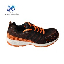 2017 New model Light Weight Sports Flyknit Upper Material Safety Shoes sport shoes light shoes