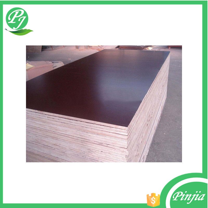 shandong high quality 4`*8`film faced plywood cheapest price film faced plywood
