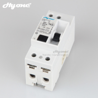 New type 2p rccb 30ma 100ma 300ma 500ma elcb 1p+n 40a residual current circuit breaker