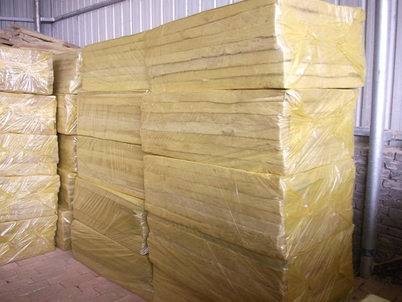 Fireproof Rock wool as external wall insulation material