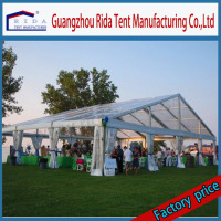 Rida 500 people luxury aluminum tents for sale for wedding party