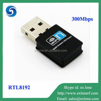 Hot sale RTL8192 300Mbps 802.11g/b/n wifi usb adapter for iptv