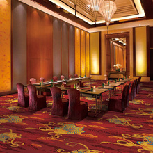 Modern Design Hotel Restaurant Printed 100%Nylon Cut Pile Carpet