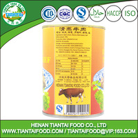 chinese wholesale healthy food canned steamed beef