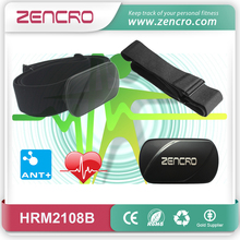 gymnastic real time activity heart rate sensor wireless ANT+ heart rate chest belt