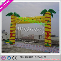 Top quality tree inflatable entrance arch for event, hot selling arch