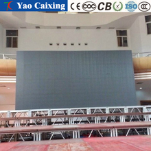 indoor stage fixed color LED color display, stage background color screen