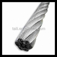 galvanized steel wire rope 8mm and 12mm