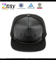 Hot Sale Drop Shipping Snapback Caps / 5 Panel Square Flat Brim Hats And Caps Made In China