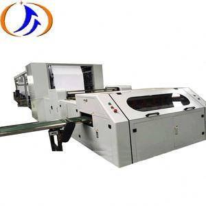 paper reel roll to sheet cutting machine