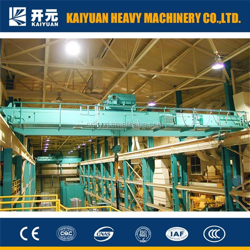 Kaiyuan Making traveling type 20 ton overhead crane for India