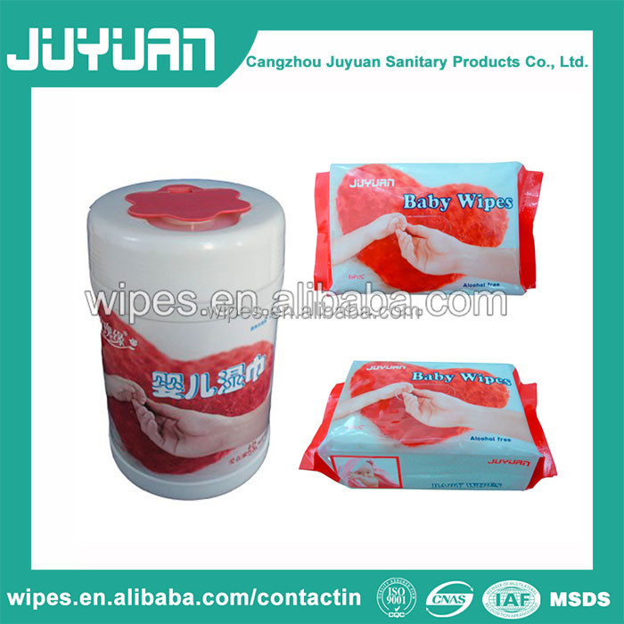 non alcohol customized wholesale baby wipes/baby tissue