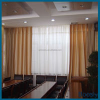Hot sale Luxury shades blackout hotel curtains