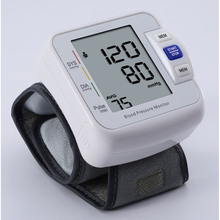 2 people 90 groups memory Health Care Automatic Digital Wrist watch Blood Pressure Monitor free of mercury