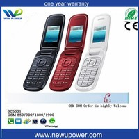Dual standby new style flip cellular old mobile phones for sale