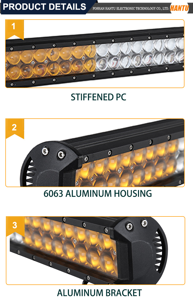 customized auto parts dual row led driving light
