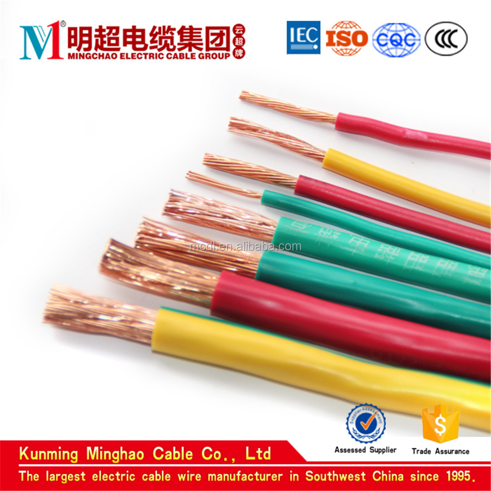 95 mm2 conductor PVC sheathed copper core strong electric cable wire