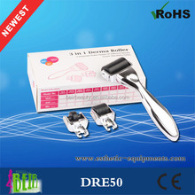 3 in 1 derma roller 1.5mm Automatic Microneedle revo derma roller magical wand
