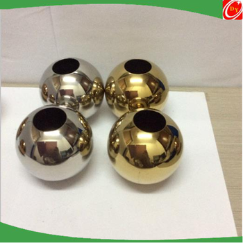 High polished drilled stainless steel hollow ball ,stainless steel ball with hole dia 19mm-2500mm