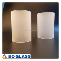 Glass Hurricane Lamp Shade/Cover / Candle Holder for lighting