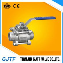cast steel wcb trunnion ball valve with handle
