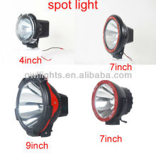 4x4 off road hid fog driving light,9'' 75w 24v hid driving light for truck ,atv heavy truck hid work light lamp