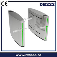 Safety Beam Senaor Optical Turnstiles For Subway Or Bus Station Access Control System