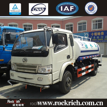 Professional Sitom 8 cbm diesel fuel type water tanker transport truck