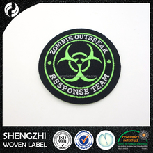 High quality polyester woven fashion patches for clothes for car seats