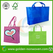 Lightweight pp nonwoven bag/ Durable Non-Woven tote/Eco Friendly Non-Woven shopper