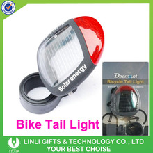 Energy Conservation Led Plastic Solar Light Bicycle