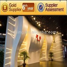 Customize GRG mould & (GRG Glassfiber reinforced gypsum) & plaster of paris ceiling designs For Guangzhou science square