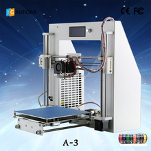 special/unique New year present for your friend/family/ JGAURORA desktop 3D printer impresora ABS PLA TPU PA WOOD 1.75mm China