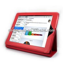 Super quality hot sell leather laptop case for iPad 3