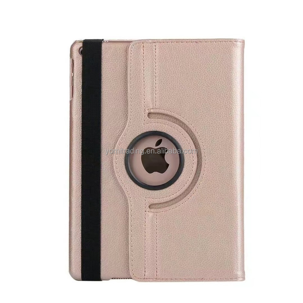 360 degree Rotation stand leather book case for Ipad 9.7 (2017)