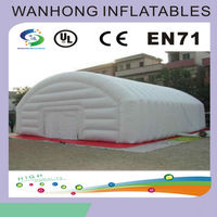 Long and giant outdoor inflatable tent , inflatable military tent
