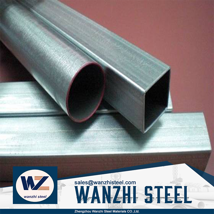 construction material ! erw welded galvanized pipes shelf hot dip galvanized h40 steel pipe with high quality