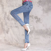 China Wholesale lastest hot sale womens jeans skinny