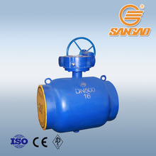 reliable quality DN500 PN16 weld expansion ball valve carbon steel WCB LCB