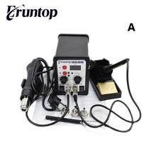 High Quality Eruntop 8586 2 In 1 ESD Hot Air Gun Solder Iron SMD Desoldering Rework Soldering Station