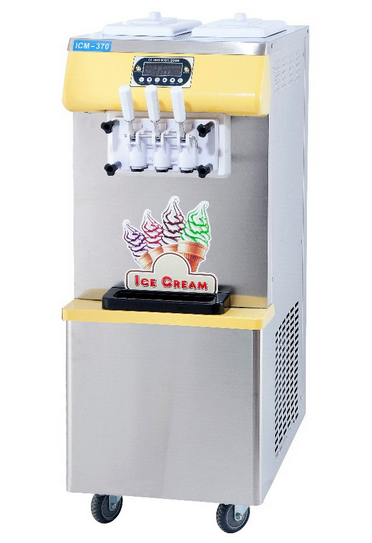 Soft serve ice cream machine for ice cream making(CE)