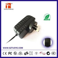 Shenzhen manufacturer 15v 1a 1000ma power adapter 12v 1500ma ac adapter