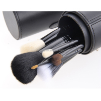 Makeup brushes 12pcs Professional Makeup Brush Set Foundation Eyeshadow Brush Kit Makeup Tool with Cup Leather Holder Case