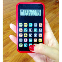 8 digits iPhone shape calculator, mini pocket gift calculator/ HLD-118