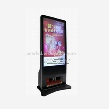 customized lcd advertising display with automatic shoes polisher