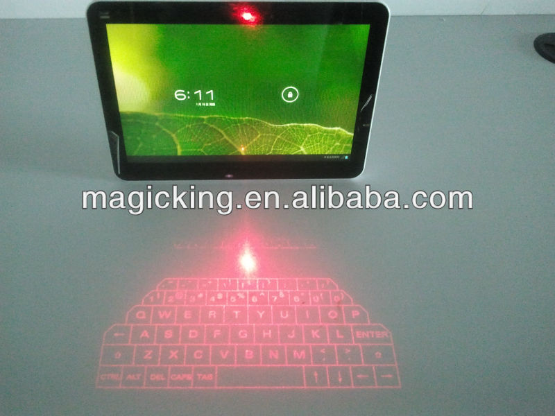 Magic cube wireless laser projection virtual keyboard bluetooth
